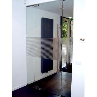 Taatsdeur glazen deur met vloerveer