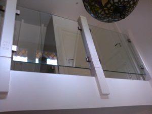 Glazen ballustrade