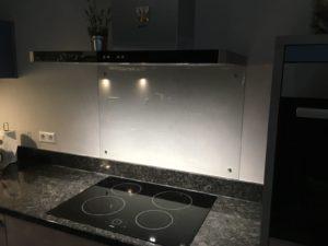 foto hardglas keuken