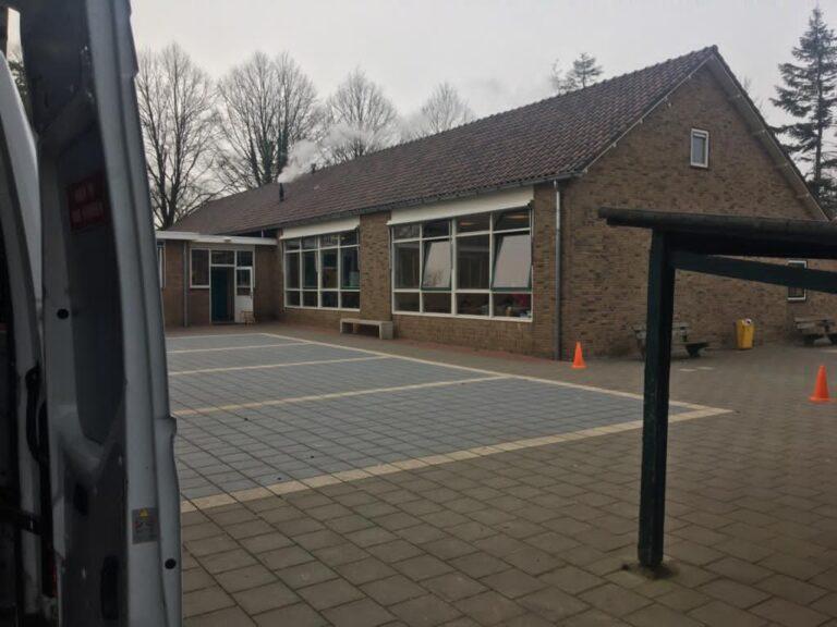 Basisschool de Horizon schoolplein