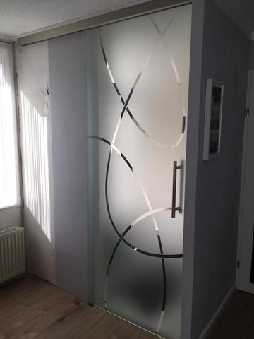 Glazen-deur-blank-hardglas-met-motief