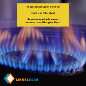 gasprijzen gaan omhoog