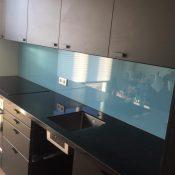 hardglas keuken
